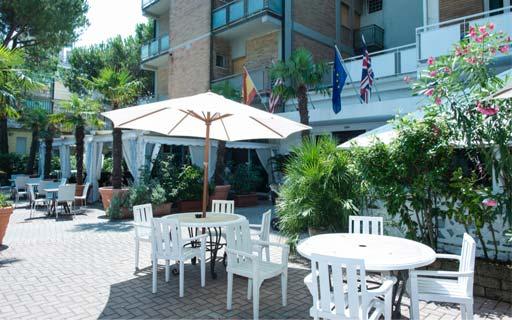 Pool & Garden - Giardino Hotel Miami Lido di Savio