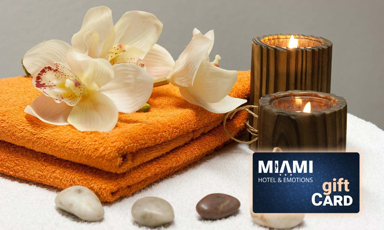 Gift Card Promo SPa Hotel Miami