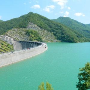 Visit to the Ridracoli Dam