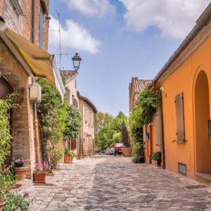 Visit of Santarcangelo